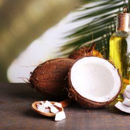 Kosmetyki z olejkiem kokosowym
